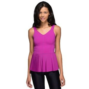 Lululemon City Tank Ultra Violet - like new!